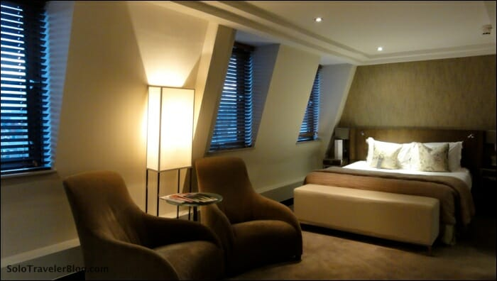 My room at The Marylebone Hotel
