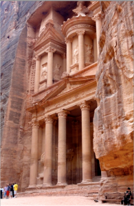 The Treasury at Petra.