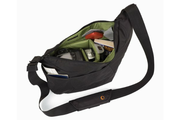 camera bag interior