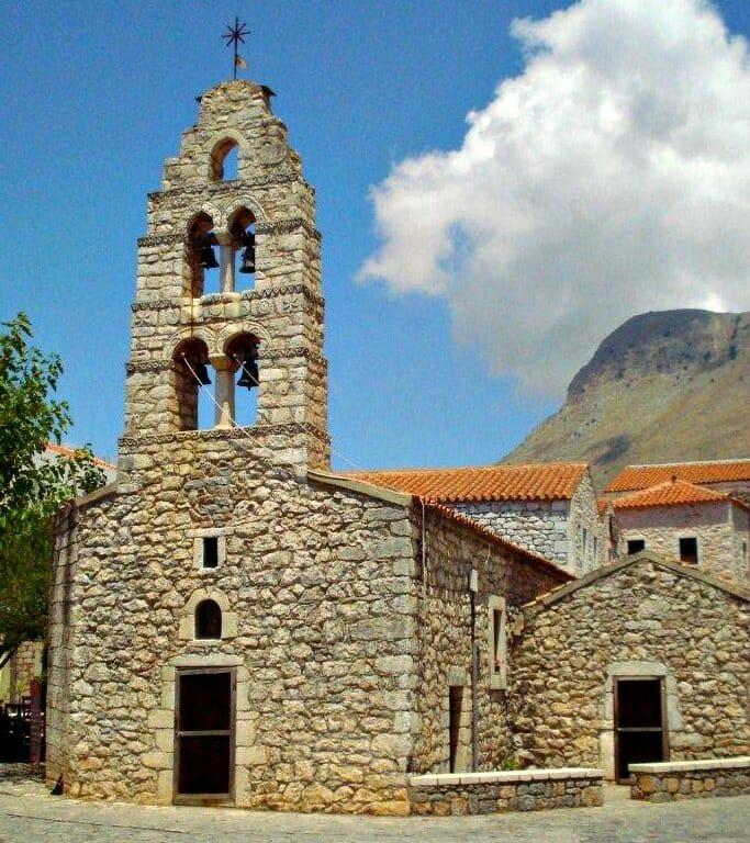 photo, image, church, mani peninsula
