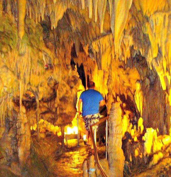 photo, image, diros caves, mani peninsula