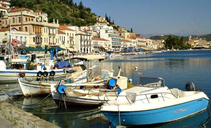 photo, image, boats, gythion, mani peninsula