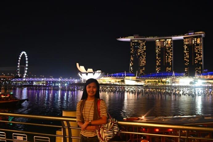 photo, image, marina bay, singapore