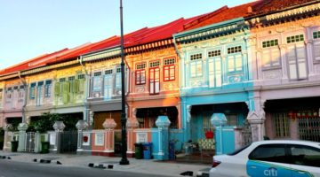 photo, image, houses, singapore, joo chiat