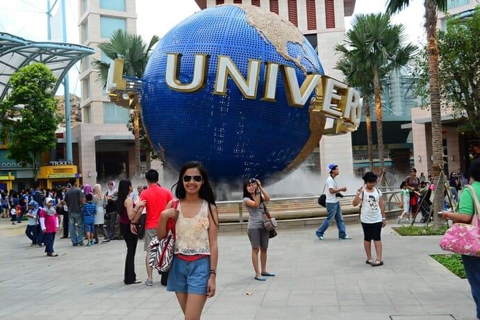 photo, image, universal studios, singapore