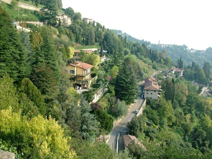 photo, image, hill, Bergamo, Italy
