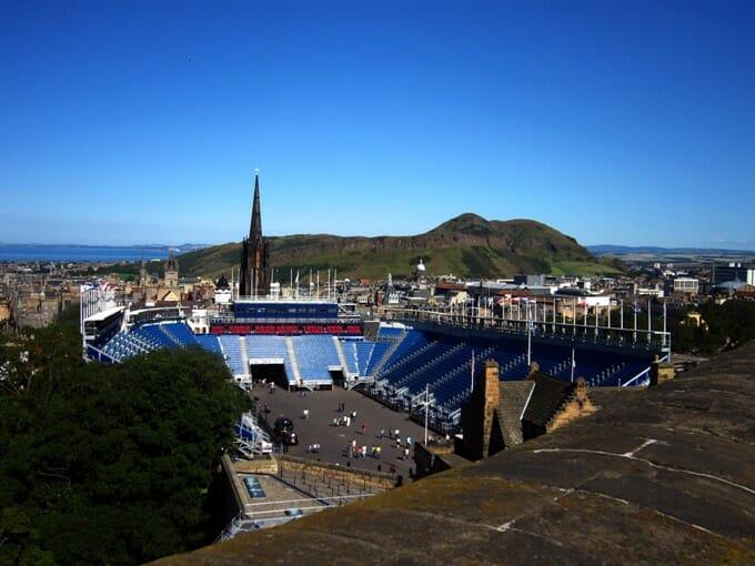 travel destination edinburgh scotland