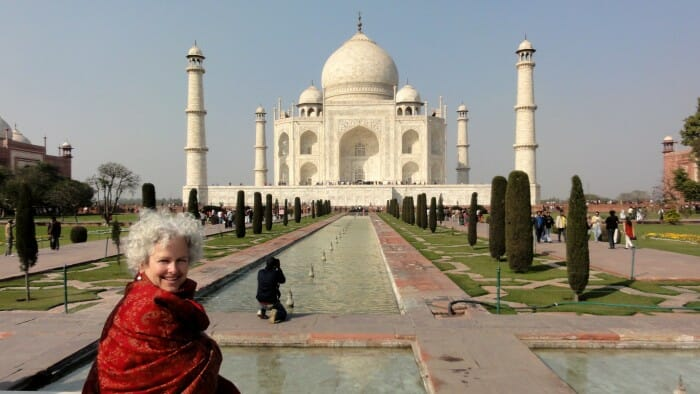 The Taj Mahal – it's real.