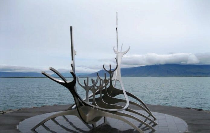 photo, image, sun voyager, sculpture