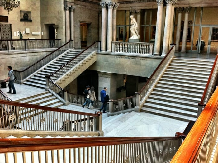 photo, image, staircase, art institute, chicago