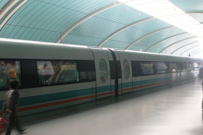 photo, image, maglev train