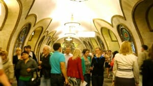 The Moscow Metro and Beautiful Propaganda