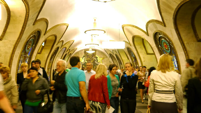 The Moscow Metro and Beautiful Propaganda