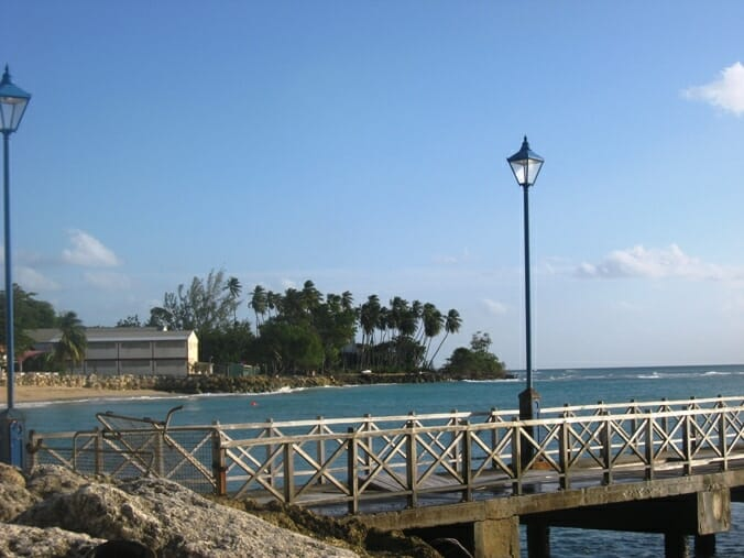 photo, image, boardwalk, barbados