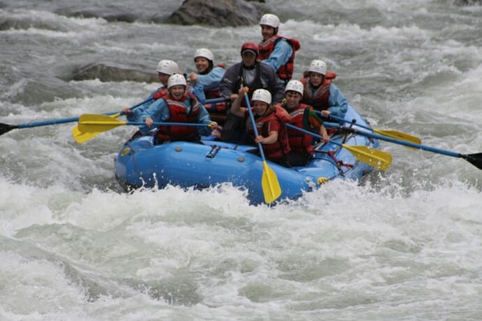 photo, image, white water rafting