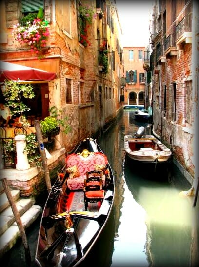 photo, image, gondola, venice