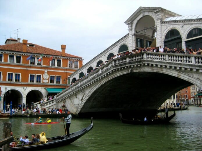 photo, image, rialto bridge, venice