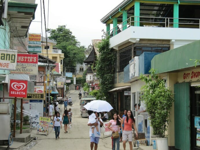 photo, image, sabang beach village, puerto galera