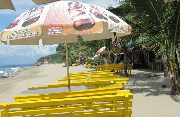 photo, image, white beach, puerto galera