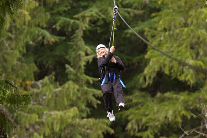 photo, image, zip lining, whistler