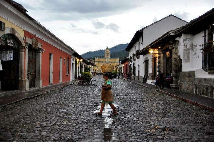 photo, image, antigua, street