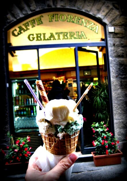 photo, image, gelato, florence