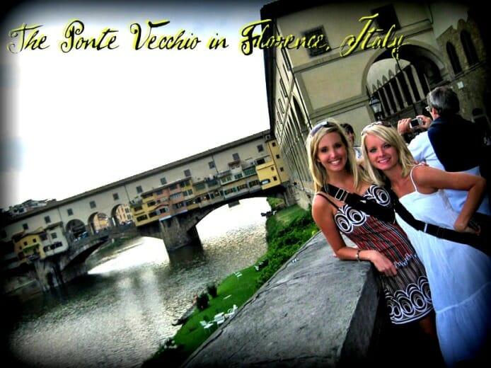 photo, image, ponte vecchio, florence