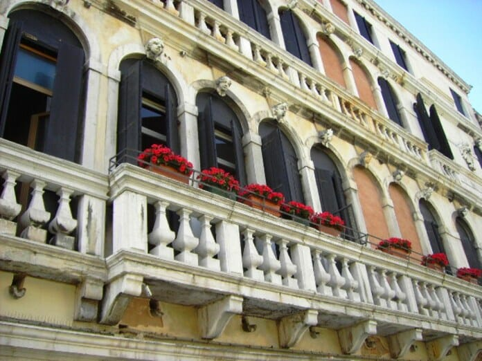 photo, image, balcony, venice