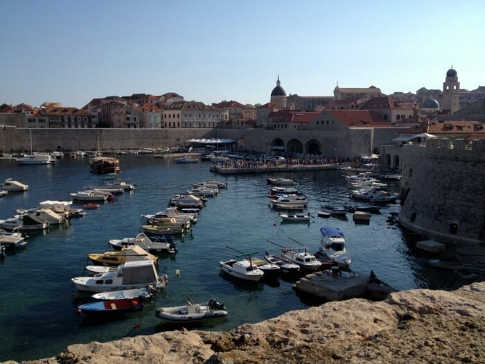 photo, image, dubrovnik, harbour, tall ship voyage