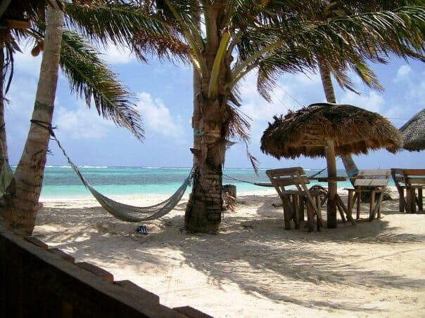 photo, image, beach, hammock, nicaragua