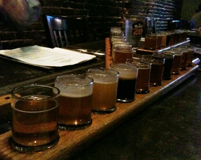 photo, image, beer flight, portsmouth