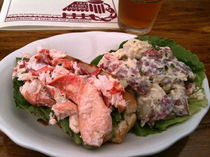 photo, image, lobster roll