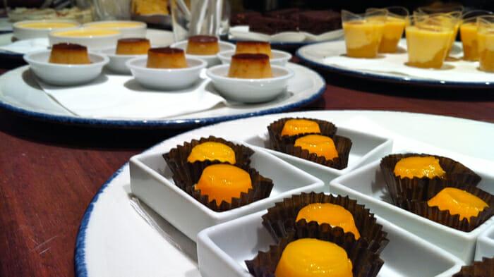 tapas, desserts, mango, girona, spain