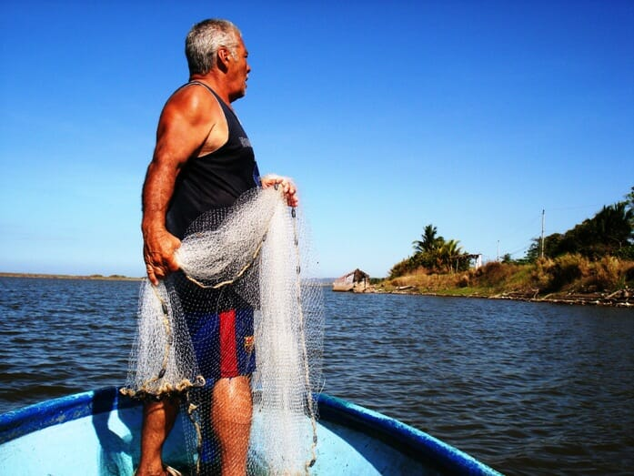 photo, image, fisherman, costa rica