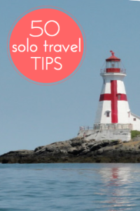How to Travel Solo: 50+ Tips