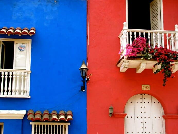 photo, image, buildings, cartagena