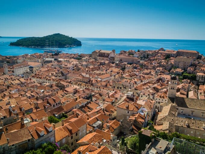 photo, image, Dubrovnik, rooftops