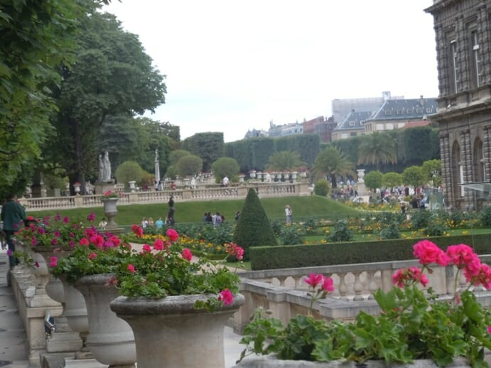 photo, image, luxembourg gardens