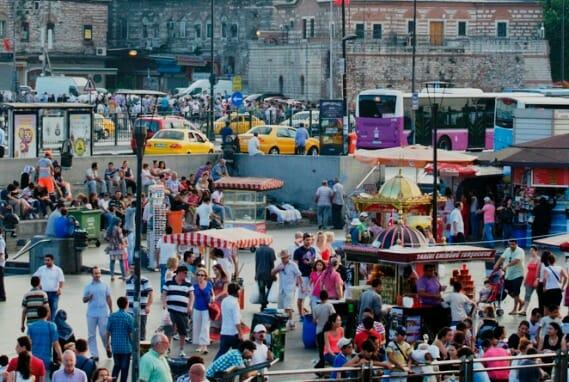 photo, image, istanbul, turkey, crowd