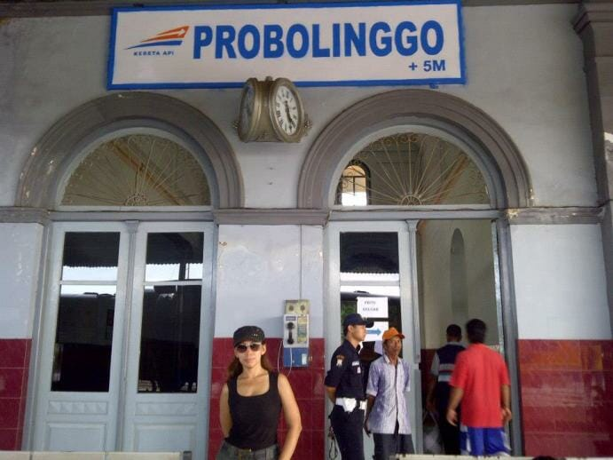 photo, image, probolinggo, train station