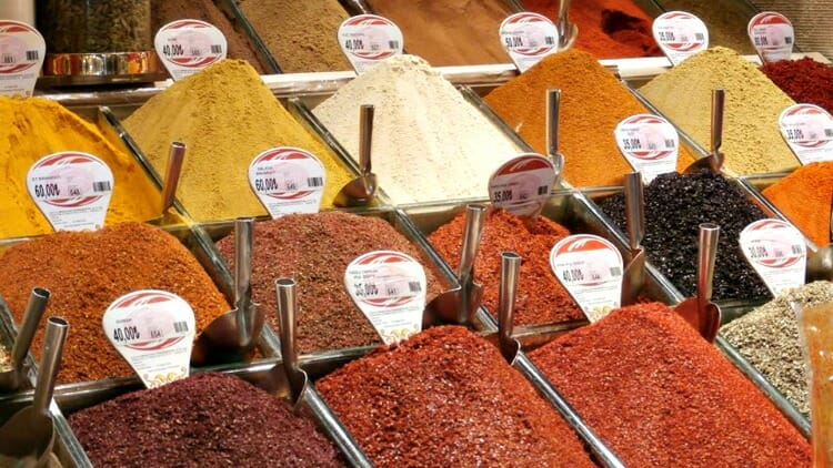 photo, image, spices, istanbul