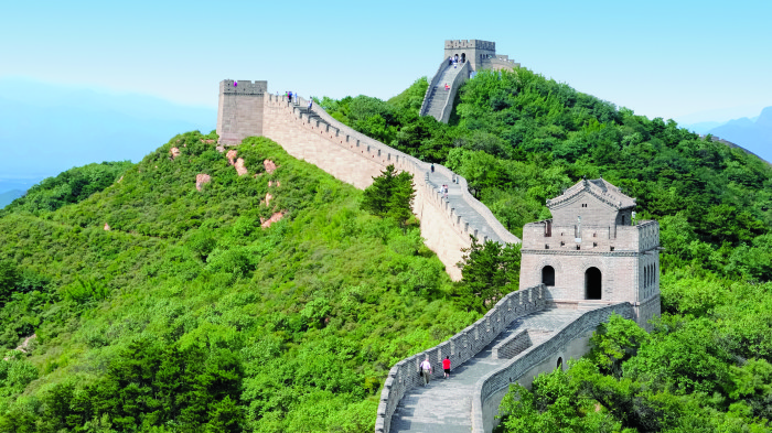 A photo of the Great Wall provided to me by OAT. When I return, I'll share my own photos.