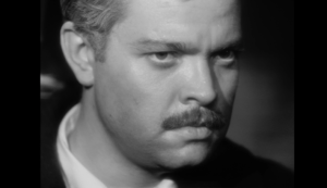 Orson Wells in the 1946 film, The Stranger.