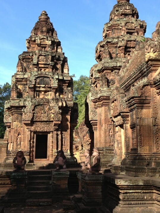 photo, image, banteay srei, siem reap