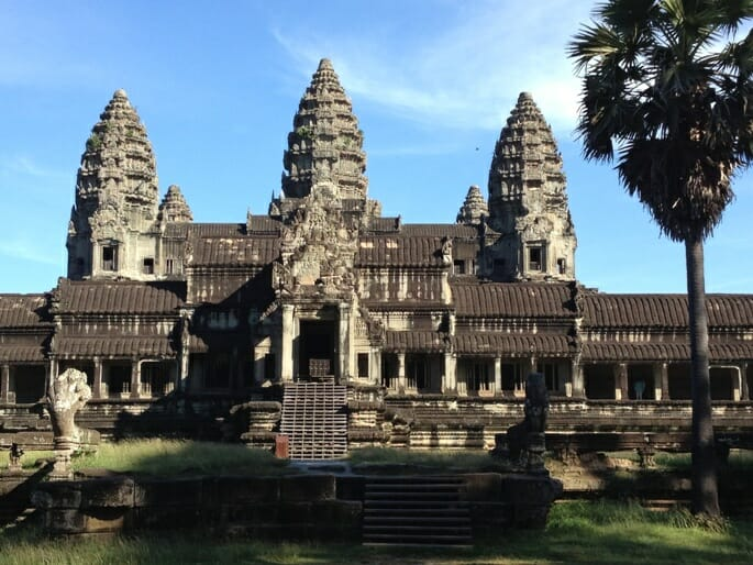photo, image, angkor wat, cambodia