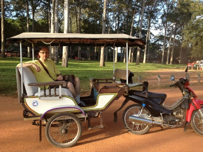 photo, image, tuk-tuk, siem reap
