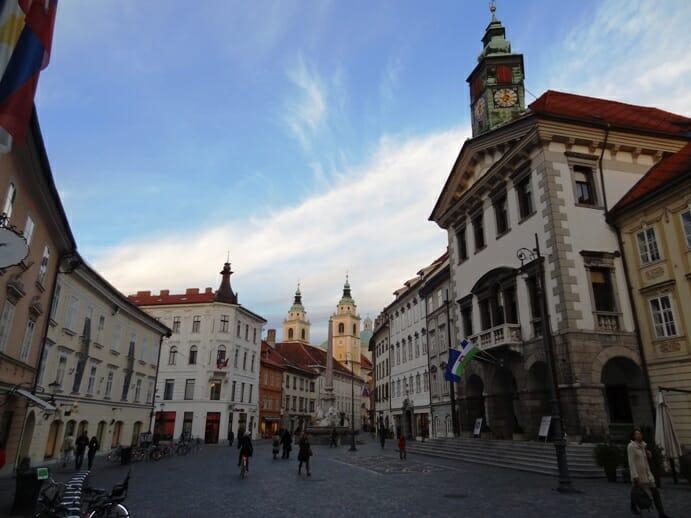 photo, image, street scene, ljubljana