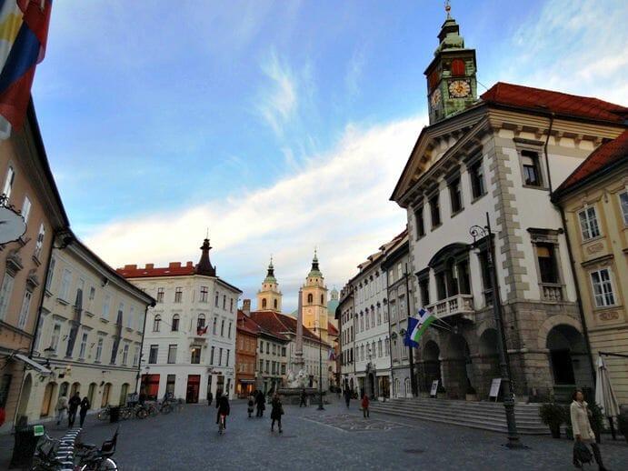 photo, image, ljubljana, slovenia, street