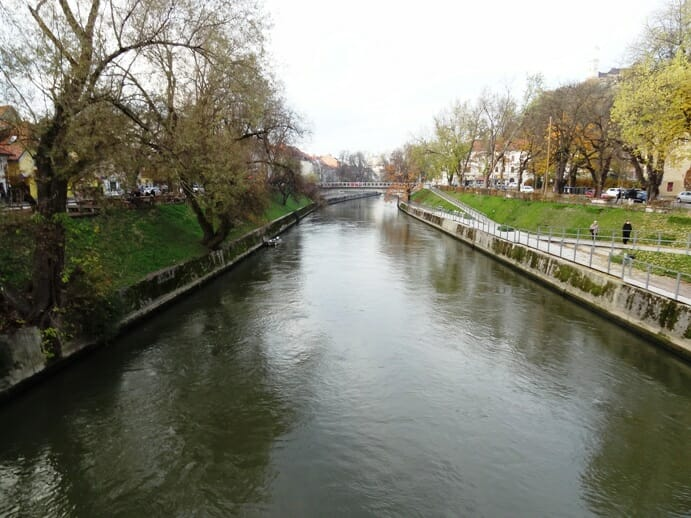 photo, image, ljubljanica river