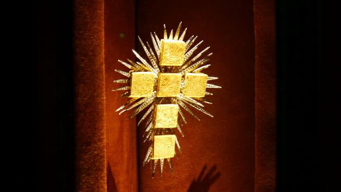 cross by Salvador Dali
